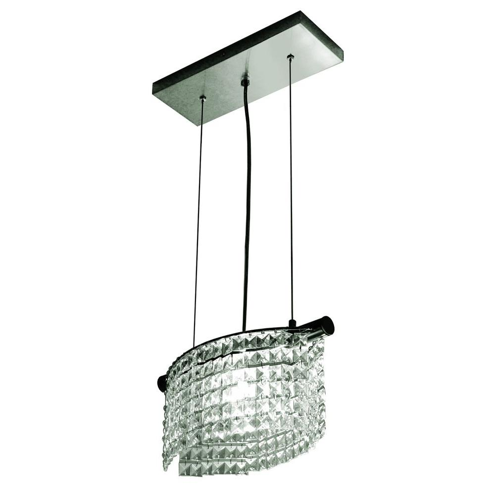 BAZZ Glam Helix Collection 1-Light Hanging Pendant-DISCONTINUED