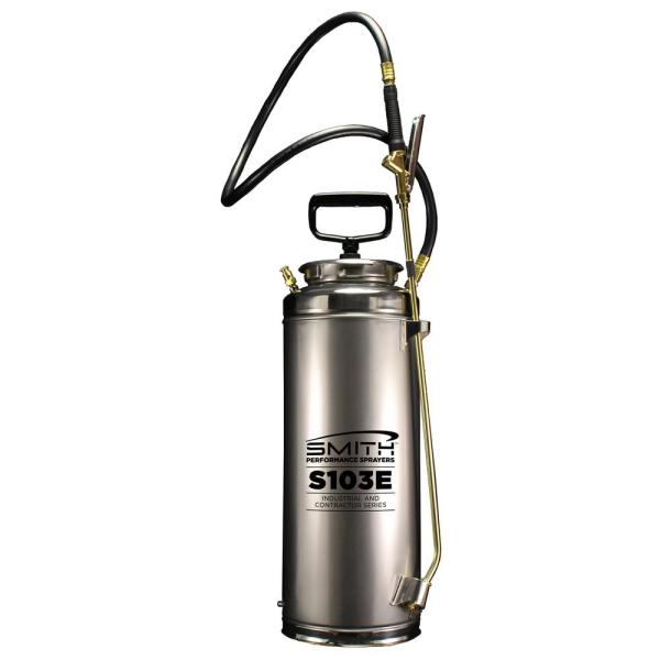 3.5 Gal. Industrial and Contractor Stainless Steel Concrete Compression Sprayer