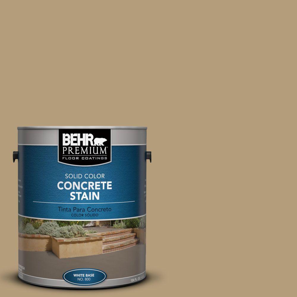 1 gal. #PFC-28 Desert Sandstone Solid Color Interior/Exterior Concrete Stain