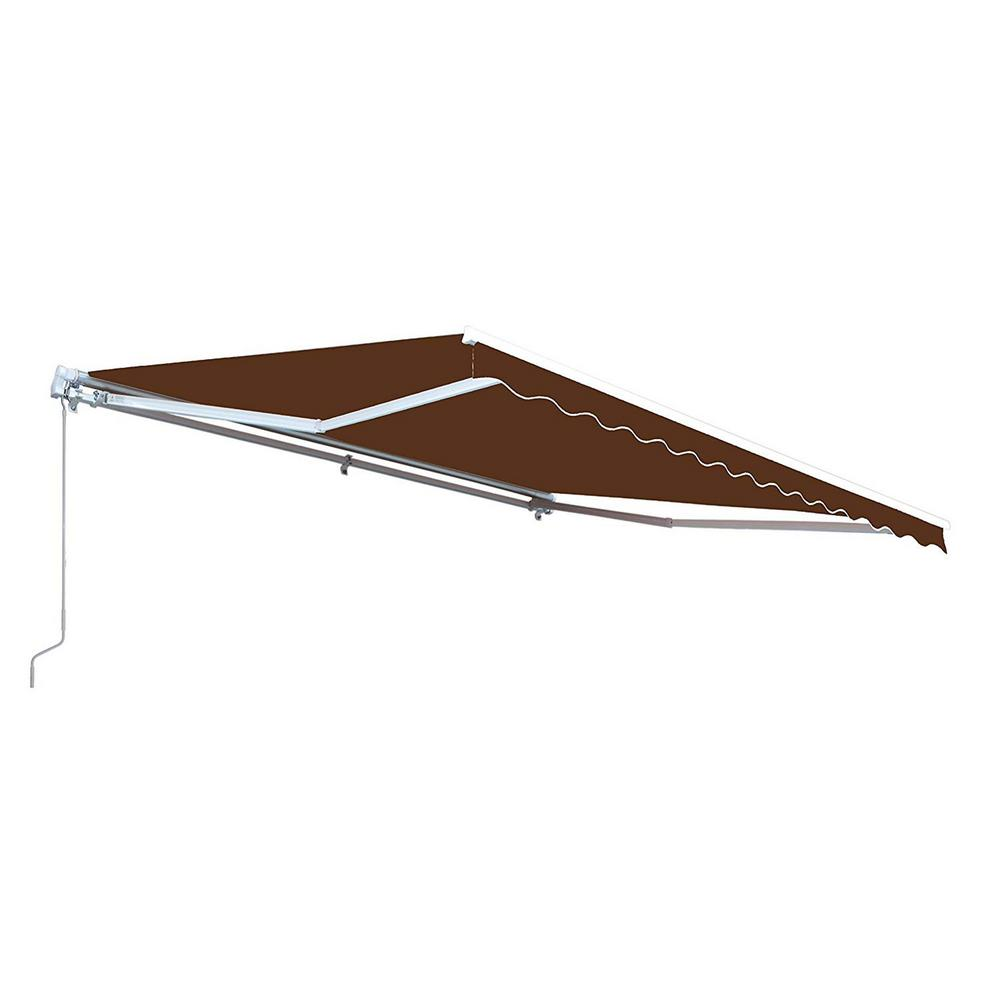 ALEKO 10 ft. Manual Patio Retractable Awning (96 in ...