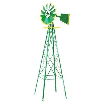 8 ft. Decorative Backyard Wind Mill