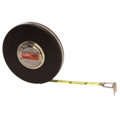 Engineers Banner 3/8 in. x 50 ft. Yellow Clad Tape Measure