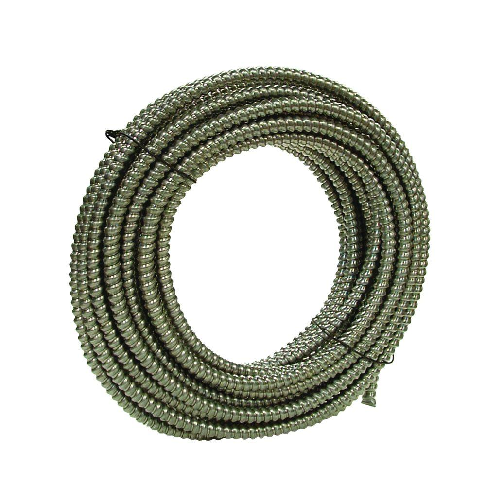 3//4 in X 100 Ft Coil 3//4-Inch-by-100-Foot Steel Southwire 55081902 55081902 Gal Flex Type Rws Reduced Wall Flexible Conduit