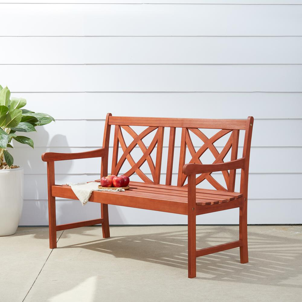 Marvelous Vifah 4 Ft Wood Garden Bench Ibusinesslaw Wood Chair Design Ideas Ibusinesslaworg