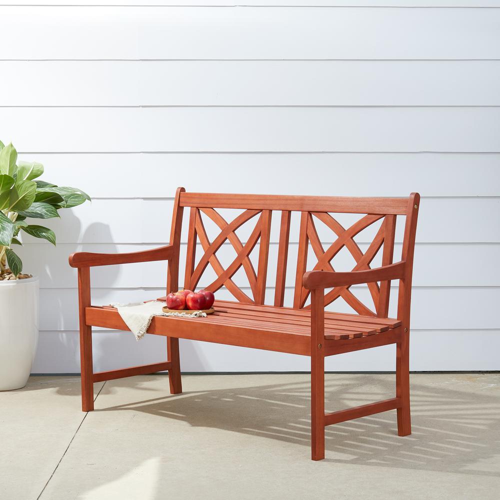 4 ft. Wood Garden Bench
