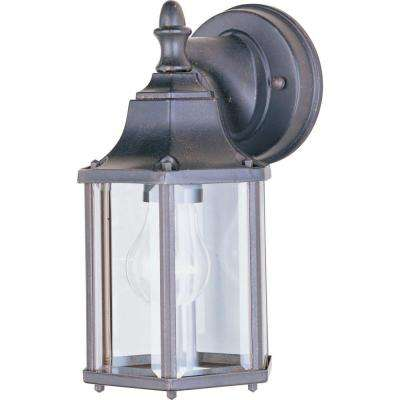 Builder Cast 1-Light Empire Bronze Outdoor Wall Mount