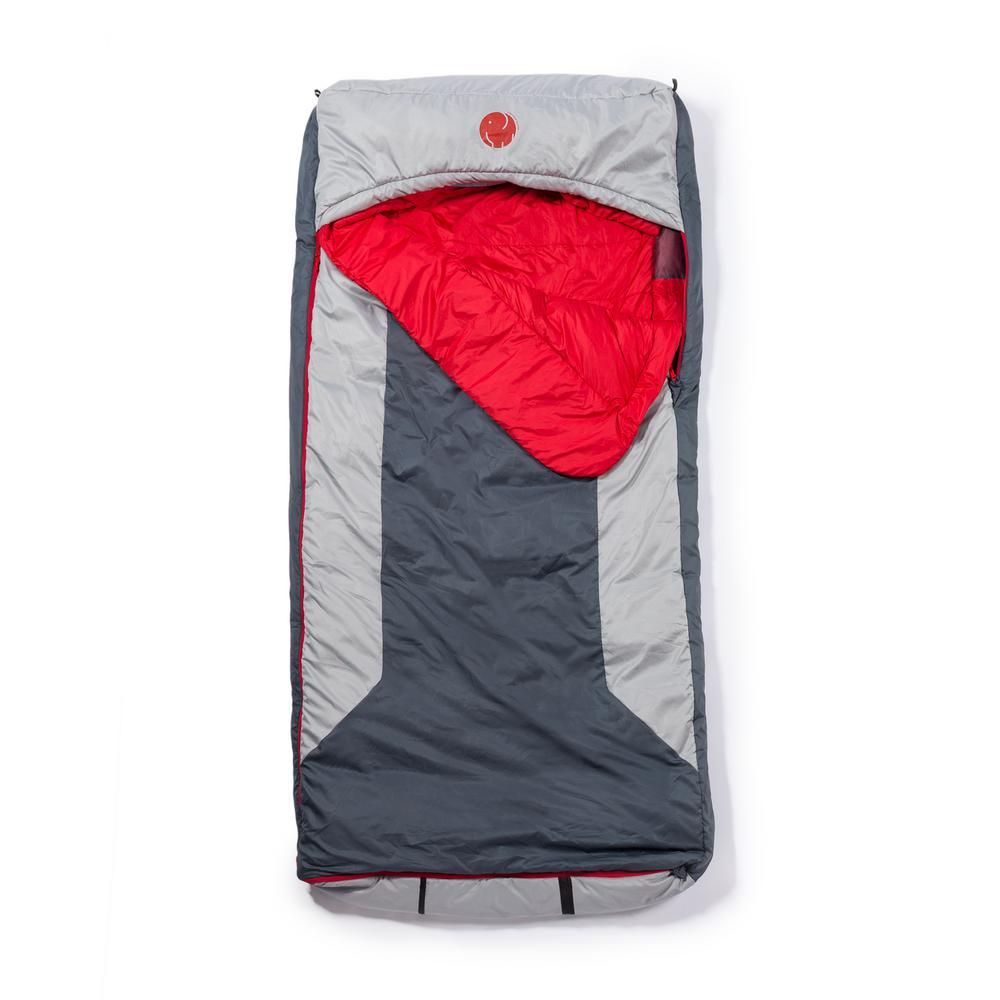 M-3D 10°F/-12.2° Multi-Down Hooded Rectangular Sleeping Bag (XL)