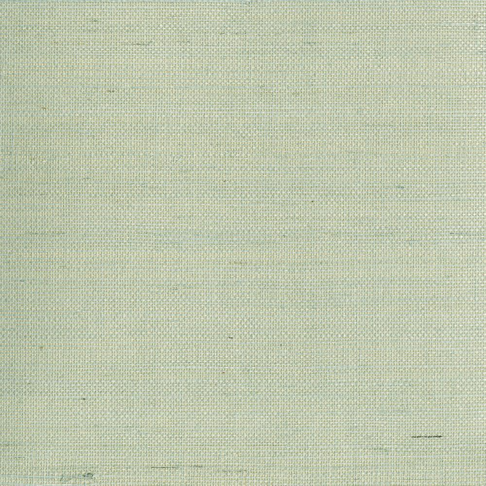 2693 30273 Light Grey Grasscloth: Kenneth James Mugen Light Green Grasscloth Wallpaper-2693