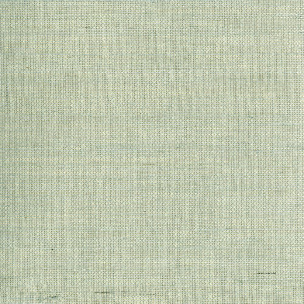 Mugen Light Green Grasscloth Wallpaper Sample