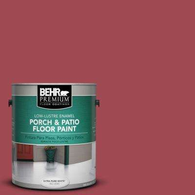 1 gal. #PPU1-07 Powder Room Low-Lustre Interior/Exterior Porch and Patio Floor Paint