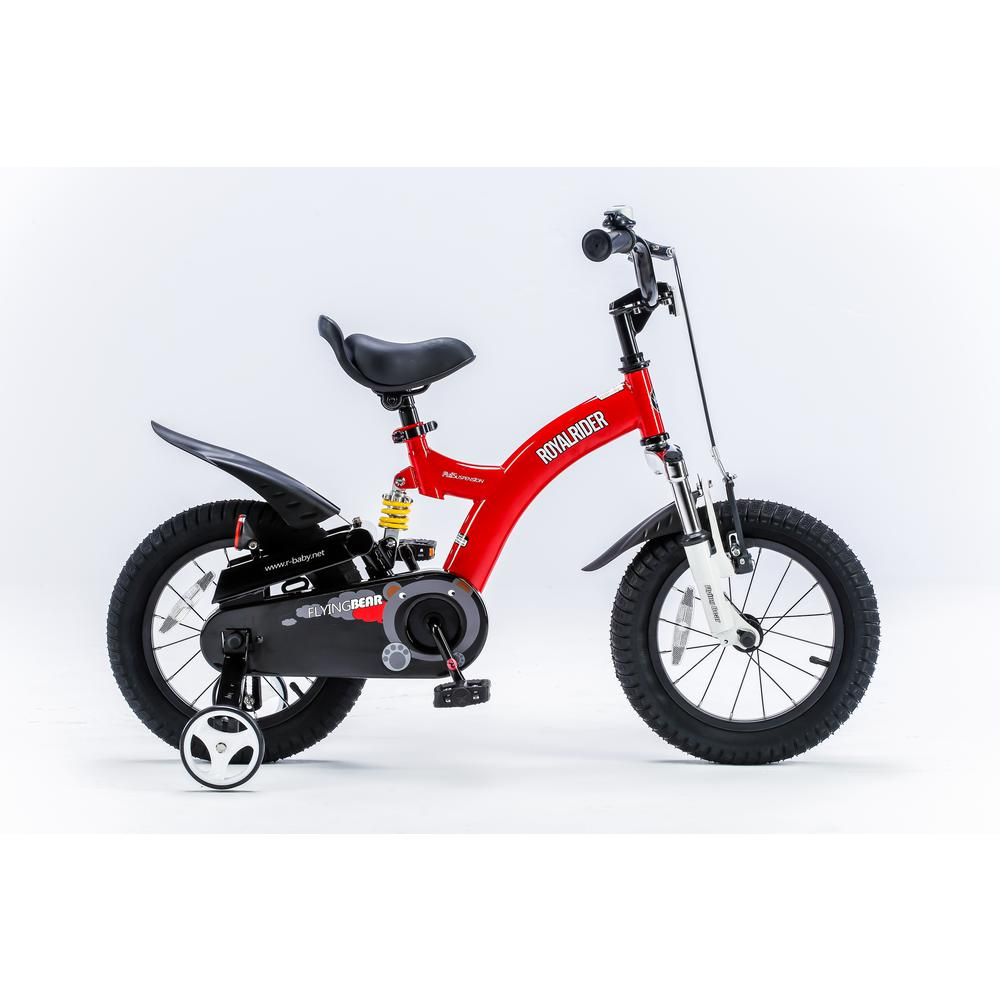 Flying Bear 14 in. Red Kids Bicycle