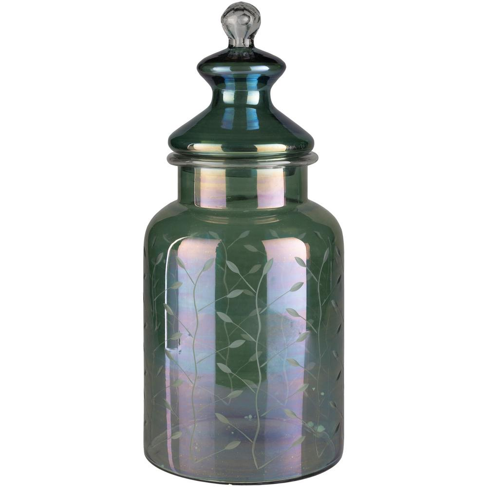 Peim Multicolor 18.11 in. Decorative Jar