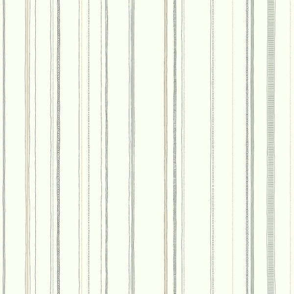 York Wallcoverings 56 sq. ft. Young at Heart Steno Wallpaper LK8251