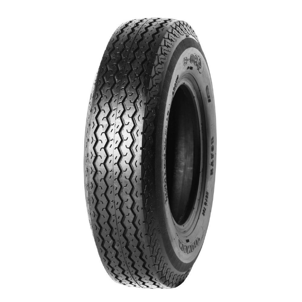 4.80 - 8 4PR LRB 5 Lug On 8 x 3.75 5 - 4.5 White Wheel