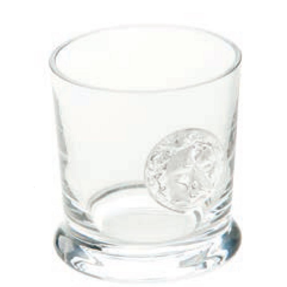 Lionshead 10 oz. 3.4 in. D x 3.75 in. H Double Old-Fashioned Glass (Set of 4)
