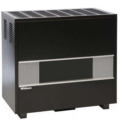 16 in. x 32-7/8 in. 50,000 BTU Propane Fireplace Hearth Wall Heater
