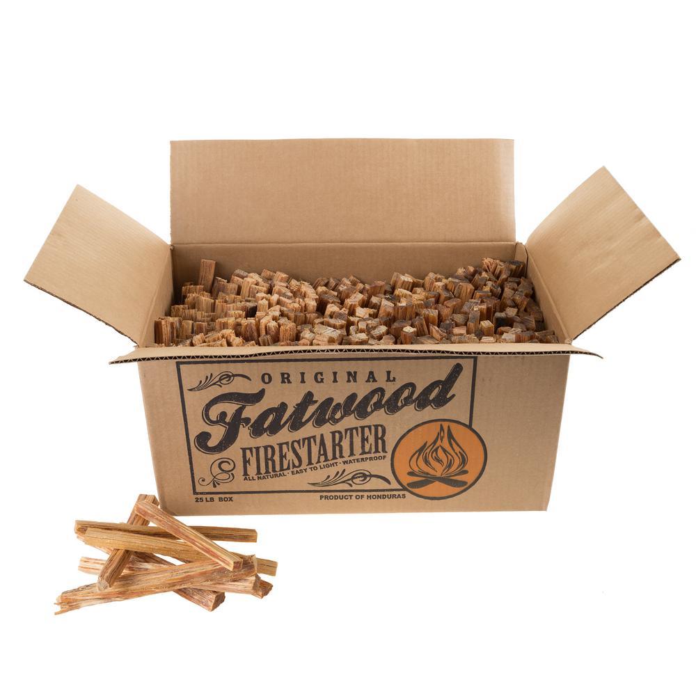 25 lb. Fatwood Firestarter Kindling Sticks