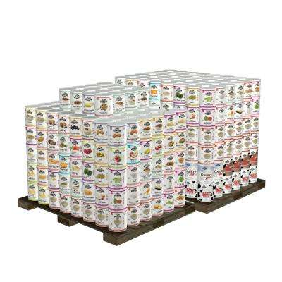 1-Year 4-Person Premium Emergency Food Supply Shelter-in-Place Kit 544 Large Cans 30-Year Shelf Life
