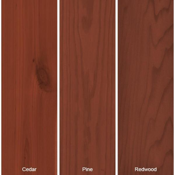 Behr Premium 1 Gal St 330 Redwood Semi Transparent Waterproofing Exterior Wood Stain And Sealer 533001 The Home Depot