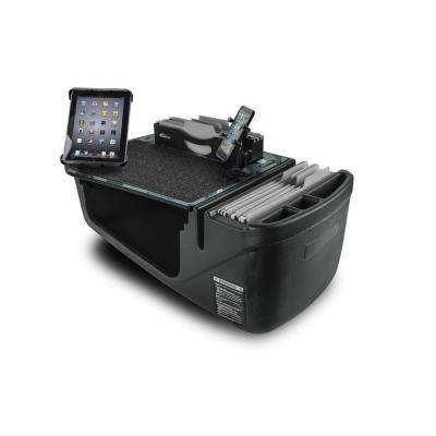 Efficiency FileMaster Urban Camouflage Car Desk with Built-in Power Inverter, X-Grip Phone Mount and Tablet Mount
