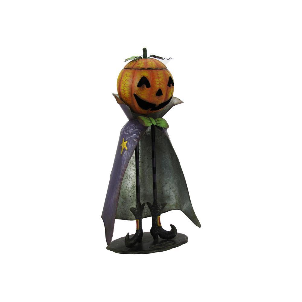 26 in. Tall Big Head Pumpkin Figurine Jack