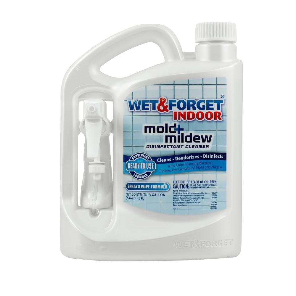 Wet Forget 64 oz. Indoor Mold and Mildew Disinfectant Cle...