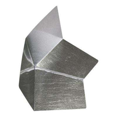 4 in. x 4 in. x 8 in. Galvanized Steel Kickout Flashing