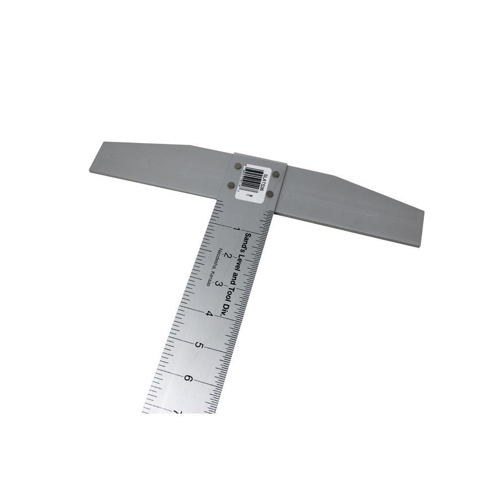 36 in. Aluminum T-Square