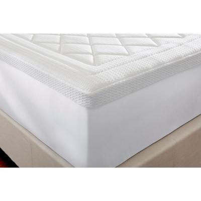 3in Quilted Gel Memory Foam Mattress Topper