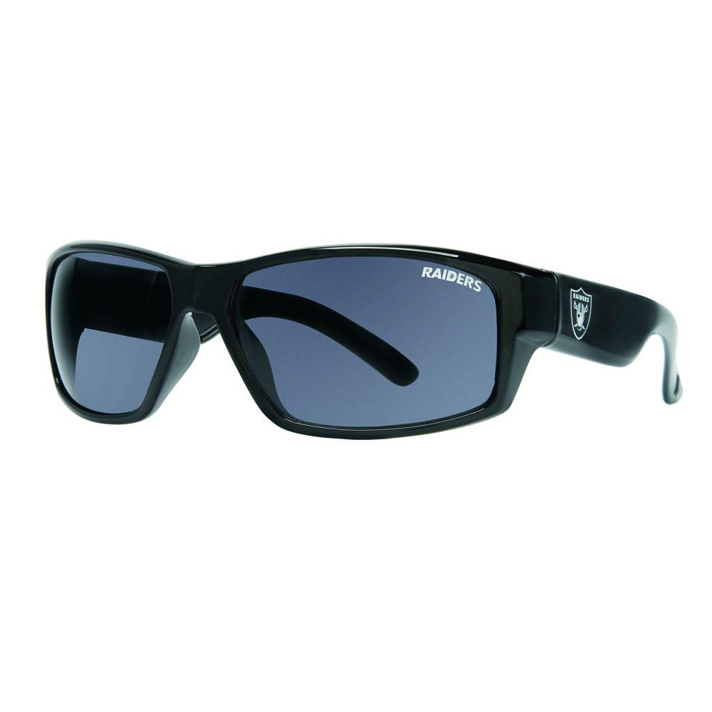 Tribeca Oakland Raiders Men's Spike Sun Glasses-DISCONTINUED
