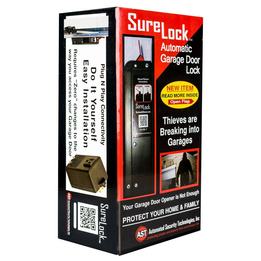electric garage door lock. SureLock Automated Garage Door Lock Electric Garage Door Lock M