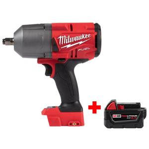 Deals on Milwaukee M18 FUEL 18-V Lit-Ion Brushless 1/2 in. Wrench + Battery