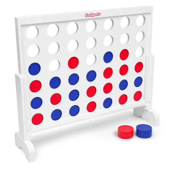 3 ft. Width Giant 4 in a Row Game with Carrying Case