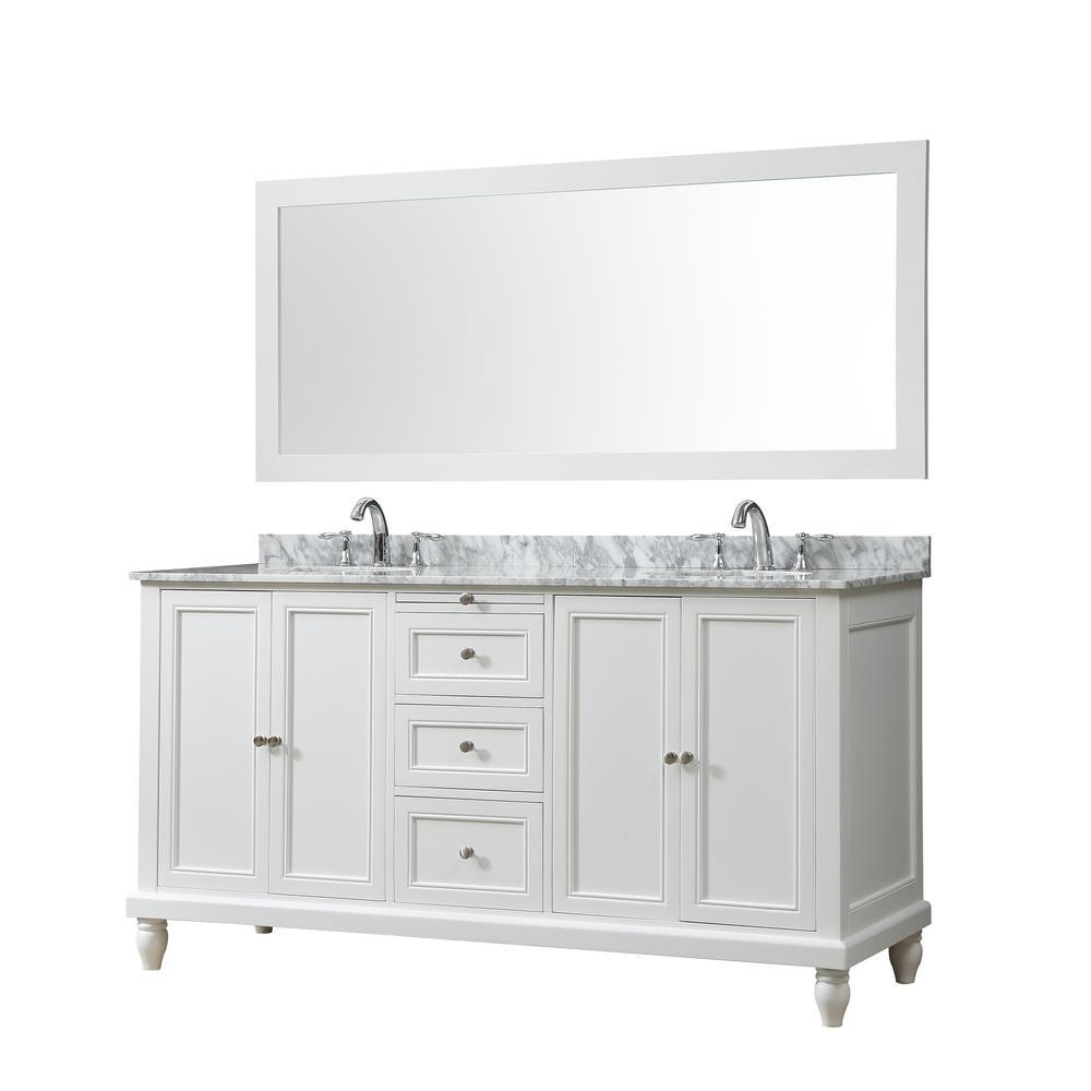 66 Inch Vanities Direct Vanity Sink Bath The Home Depot