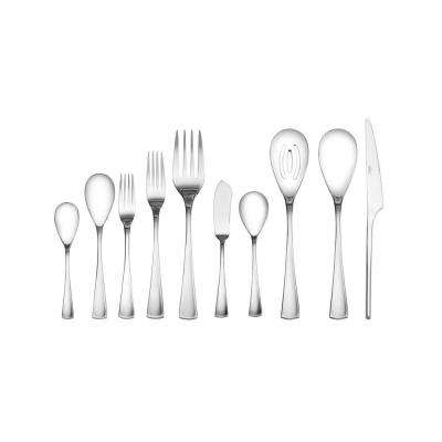 Equinox 45-Piece Stainless Steel Flatware Set
