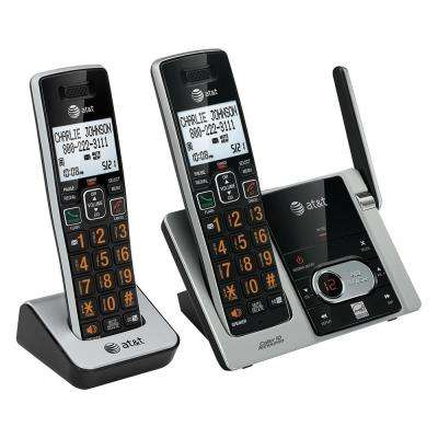 2-Handset Cordless Answering System with Caller ID/Call Waiting