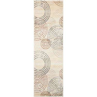 Studio Ivory 2 ft. x 7 ft. Runner Rug