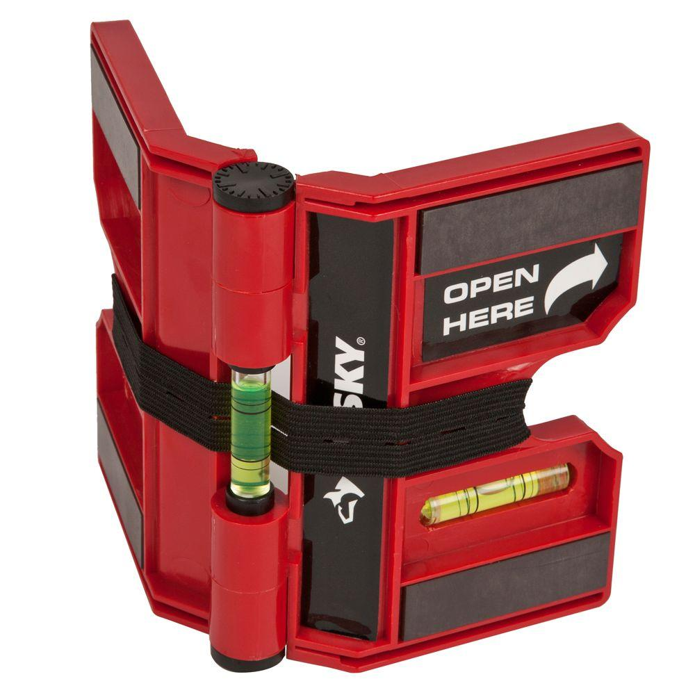 Husky 7-3/8 in. Multi-Position Magnetic Post Level