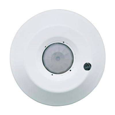 Provolt Commercial Grade Passive Infrared Ceiling Mount 1500 sq. ft. Occupancy Sensor, White