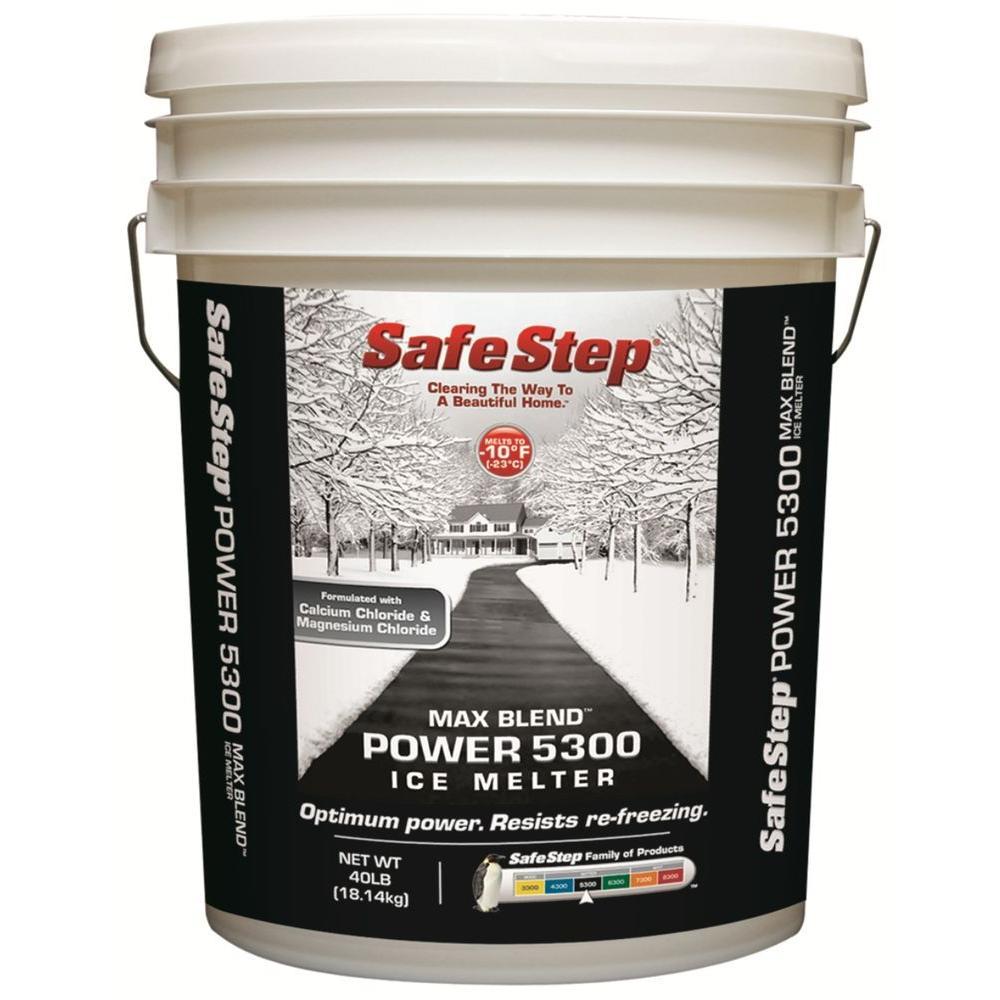 Safe Step 40 Lb 5300 Max Blend Ice Melter 57840 The Home Depot