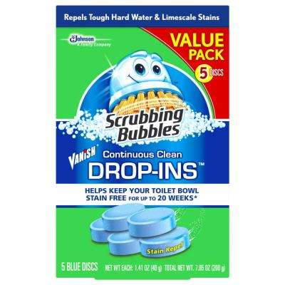 5-Pk Toilet Cleaner Drop Ins (Case/6)