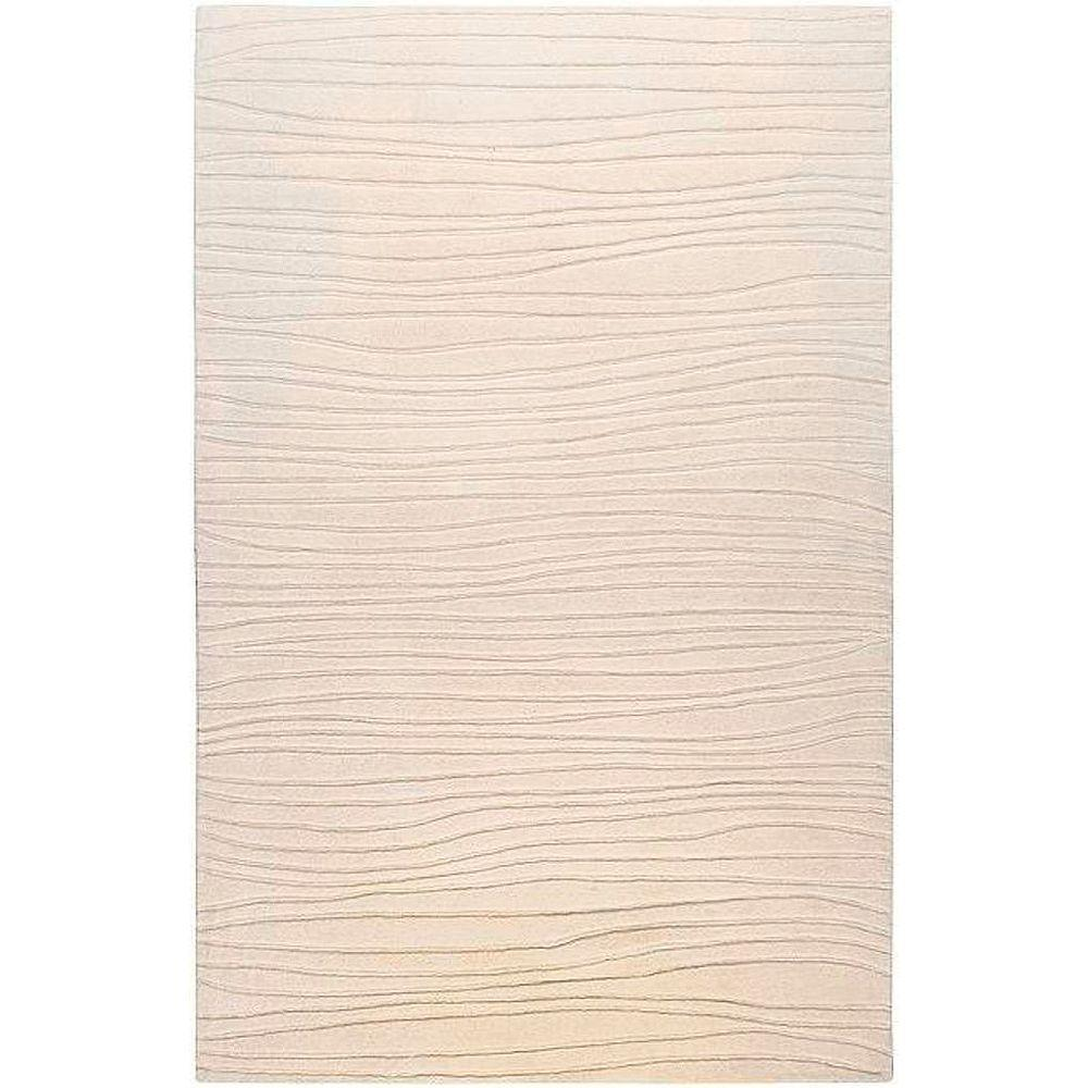 Artistic Weavers Deshler Ivory 9 ft. x 13 ft. New Zealand Wool Area Rug