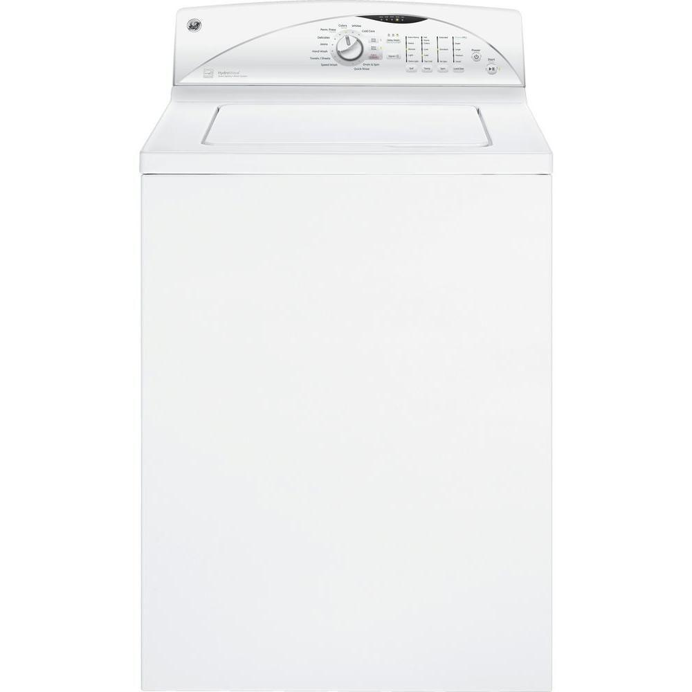 GE 3.9 DOE cu. ft. Top Load Washer in White, ENERGY STAR