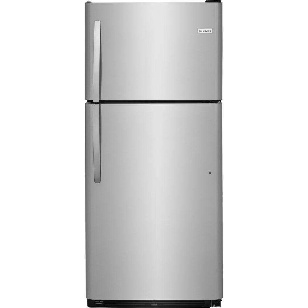 20.4 cu. ft. Top Freezer Refrigerator in Stainless Steel