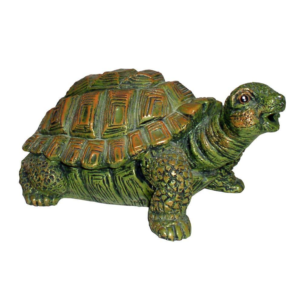Total Pond Turtle Spitter A16540 The Home Depot