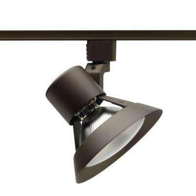 Trac-Lites Bronze Flared-Gimbal Light