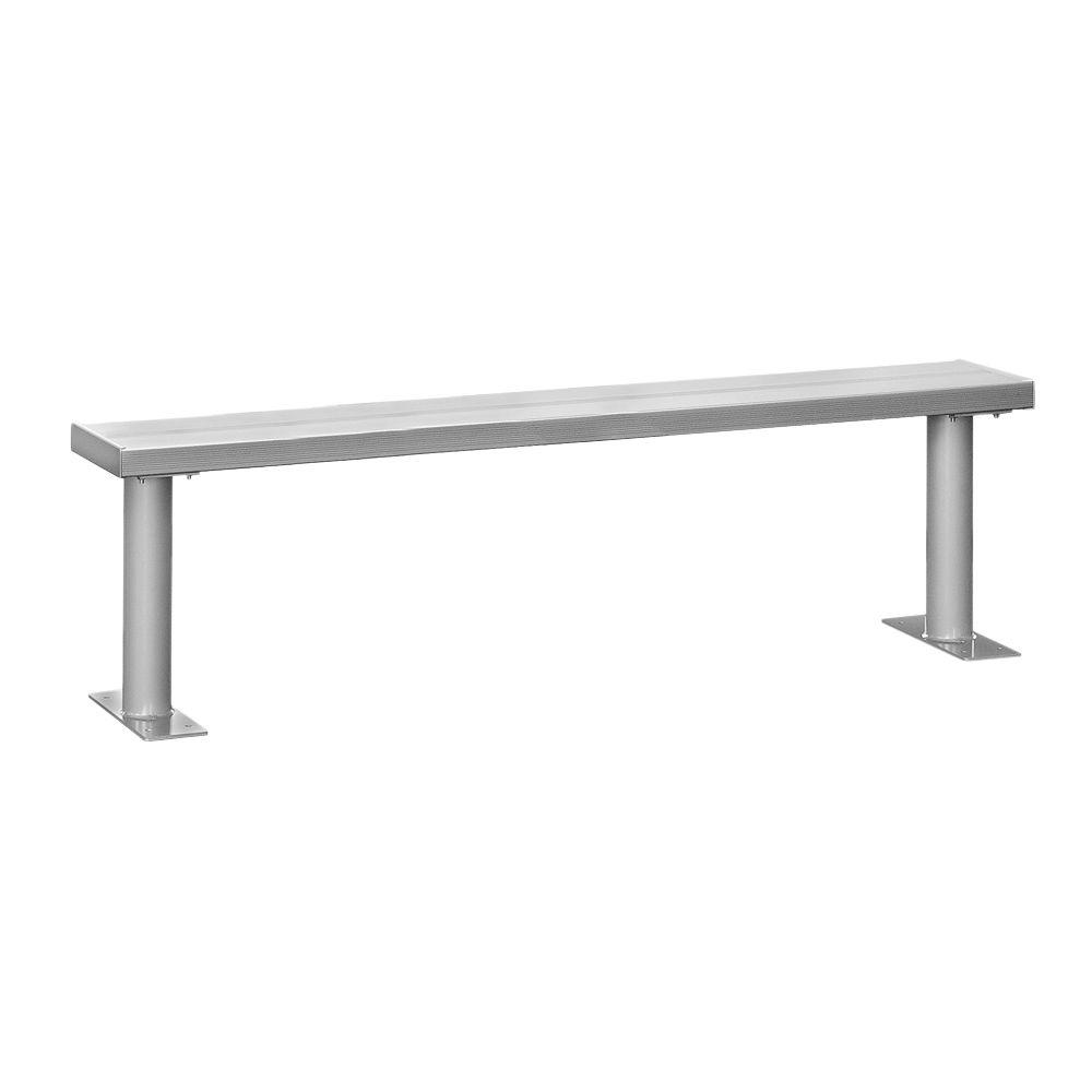 Superb Salsbury Industries 84 In W Aluminum Locker Bench Gmtry Best Dining Table And Chair Ideas Images Gmtryco