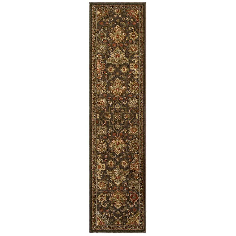 Home decorators collection greyson chestnut 1 ft 10 in x for Home decorators rug runners
