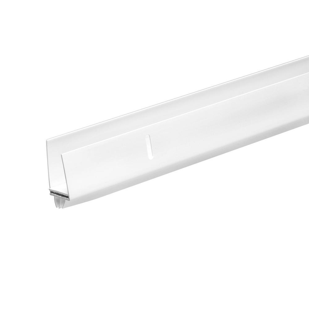 Frost King 1 In X 1 12 In X 36 In White Adjustable Storm Door