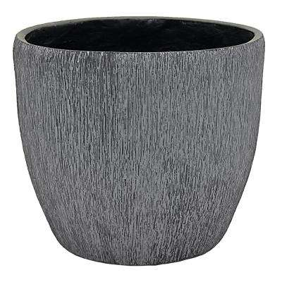15 in. x 15 in. Planter-Large in Gray